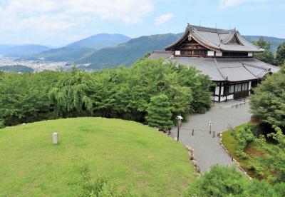 青龍殿と将軍塚、大舞台からの絶景