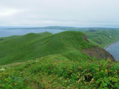 あこがれの利尻島・礼文島へ(4)・・スコトン岬ハイキング⇒フェリーで利尻島へもどる