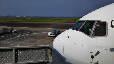 羽田空港→函館空港/AIR DO☆