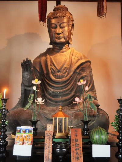 奈良県14  明日香村e   飛鳥寺 日本最初の仏教寺院 ☆本尊-飛鳥大仏(釈迦如来)-609年開眼
