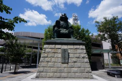 3歳子連れ☆山梨旅行記④~武田神社と鳥もつ煮、そして桃ジェラートを♪