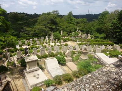 2020年8月 六甲山(再度公園内の神戸市営外国人墓地を案内して頂き 森林植物園を見学します。)