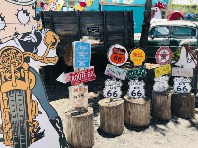 アメリカ中西部3州ドライブ12日間⑪⑫旅の最後はルート66沿いに行く「映え」の小さな町たち