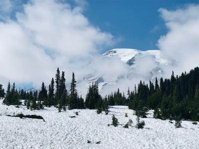 ワシントンモンタナ・大自然の17日間①白銀のマウントレーニアと素敵アンティークB&B