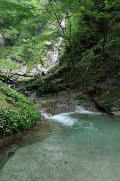 西丹沢西沢滝めぐりハイキング