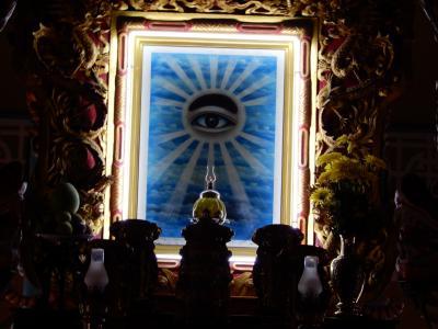 2019年の夏休みはとりあえずベトナムでも/ベトナムの新興宗教で世界の宗教のチャンプールなカオダイ教寺院へ
