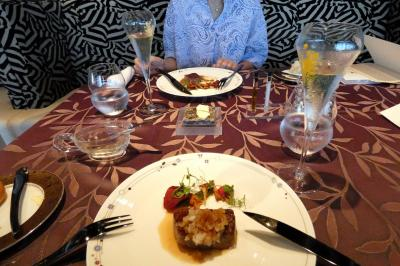 GoTo会員制リゾート 東急ハーヴェストクラブ熱海伊豆山&VIALA1泊 フレンチレストラン コート・エ・シェルの夕食