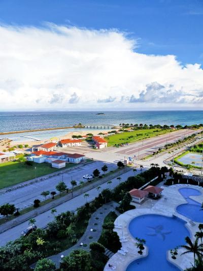 どこかにマイル 12回目は夫婦で沖縄  1日目 クラブフロアでリゾートホテルスティを楽しむ編