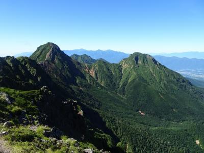 八ヶ岳♪白駒の池、ニュウ、天狗岳、峰の松目、硫黄岳、横岳、赤岳