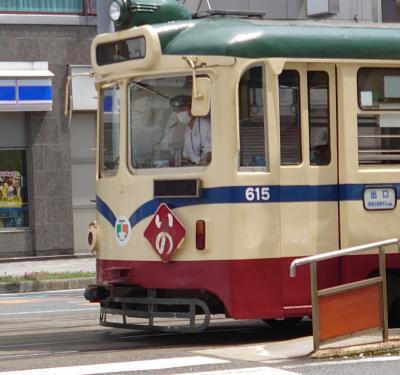 路面電車のある街(高知編)