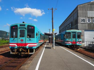 2020.08 鉄分補給で樽見鉄道!(3)根尾川沿いにかつての終点・谷汲口。そしてバスで谷汲山へ。