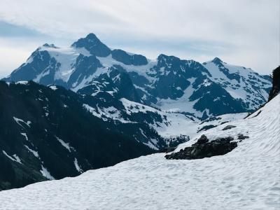 ワシントンモンタナ・大自然の17日間⑦ストイックに雪つもるトレイル歩き&大氷河に感動!!