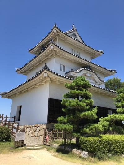 念願の丸亀城