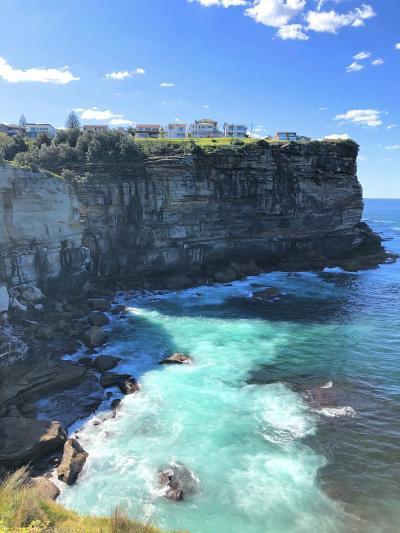 シドニー ワトソンズベイからボンダイまで海岸線を歩く