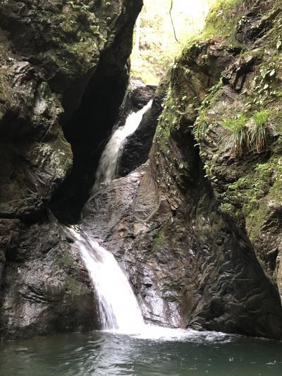 マイナスイオンを浴びに海沢三滝へ