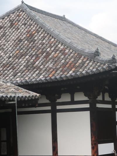 奈良県32 奈良市f 元興寺 本堂・禅室・五重小塔は国宝 ☆奈良時代の古瓦も現存