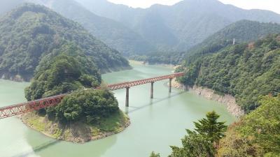 電車に乗らずに大井川鐵道「奥大井湖上駅」へ