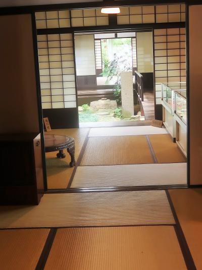 奈良県33 奈良市g  ならまち格子の家 見学/休憩 ☆町家の佇まいを「再現」・撮影も自由