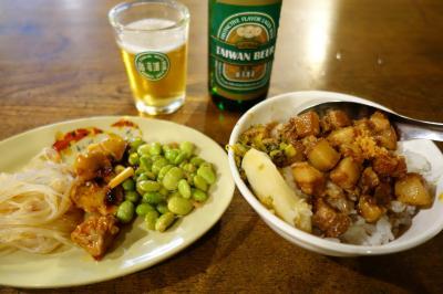 20200818-3 京都 微風台南 tears2、魯肉飯とか台湾ビールとか