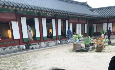 子連れでGo!(7歳)~景福宮の伝統茶屋