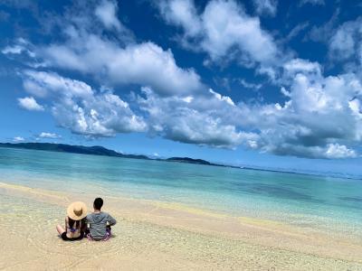 石垣島 big beach で幻の島へ連れてって