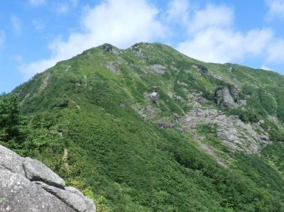 月例登山報告/白毛門。