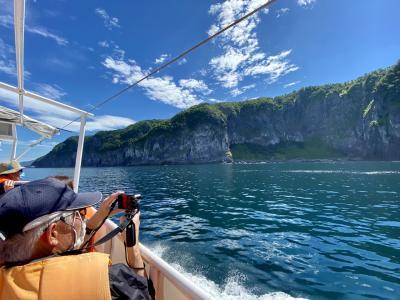 2020年8月 北海道10日間(7)5日目 オシンコシンの滝~知床クルーズ、ウトロ周辺