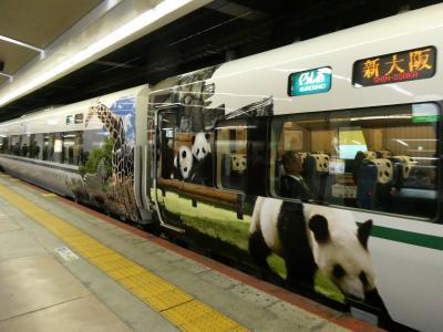 和歌山から大阪へ JR特急の旅