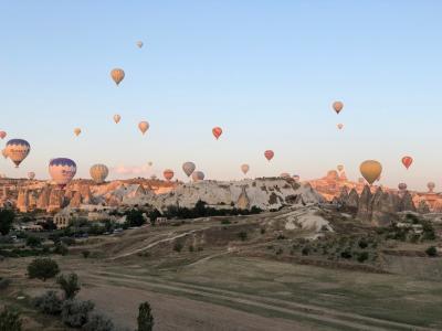 (4日目)念願のトルコ旅行・日の出気球とカッパドキアの続き