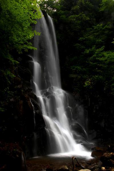 ◆秘境滝と岩沙参を求め会津下郷の三輪滝へ, Part2