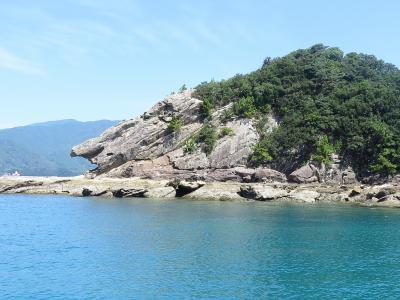 竜串・見残し海岸の奇岩探索