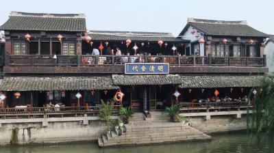 モダン都市「上海」と水郷古鎮「西塘」をおしゃれに巡る旅