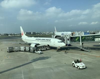 Go to 鹿児島 出発前に伊丹空港散策