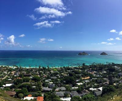ハワイ・オアフ島 / 上から俯瞰してみた特集