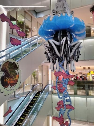 博多ステーションビル内でグルメ&ショッピング! (^0^) !