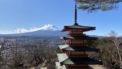 富士山を見に行ってきた!
