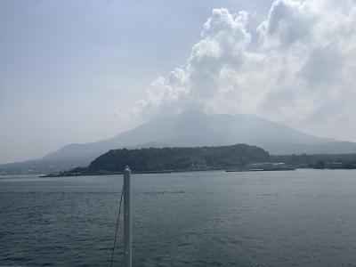 Go to 鹿児島 2日目は桜島