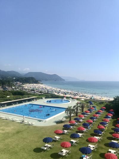静岡/コロナ禍の夏休み第三弾。海とプールで遊んでからの温泉って最高!@ホテル伊豆急(2020年8月)