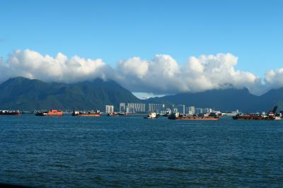 香港★蝴蝶灣へ 屯門の海沿い散歩