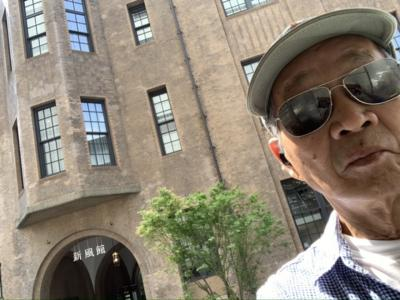 2020年8月22日猛暑の中(Shinpukan)から(Higashiyama)まで1万歩数の市街地散策