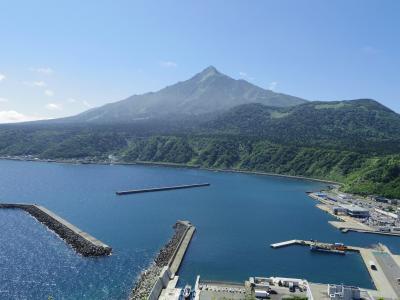 あこがれの利尻島・礼文島へ(5)・・利尻島を路線バスで一周、オタトマリ沼とベシ岬からの利尻富士~羽田までの機窓