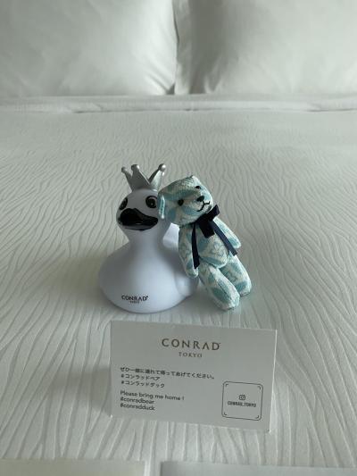 コンラッド東京 ホテルステイ デイユース15000円