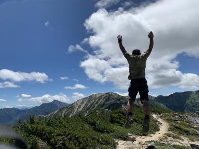 奥多摩探検隊、北アルプス横断の旅!1日目《日本三大急登と裏銀座編》