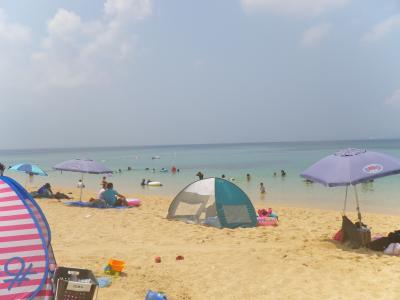 沖縄でシュノーケル三昧☆その1☆伊計ビーチと大泊ビーチ