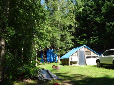 2020年8月☆旦那と2人で大自然満喫キャンプ!オロウエン大滝キャンプ場