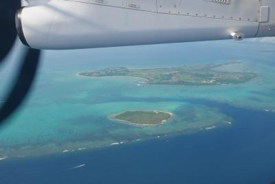 与那国発石垣行・RAC724便で24分間遊覧飛行搭乗記