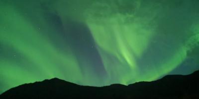 時空旅行「北極圏のオーロラ」