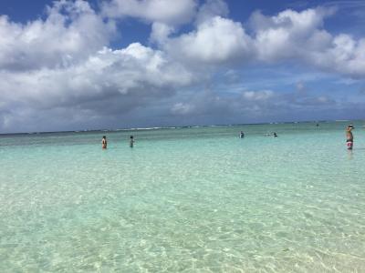 初めてのグアム小旅行!vol.1~出国とビーチで遊ぶぞ編~