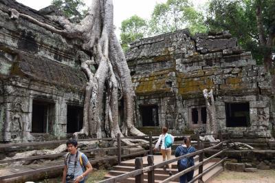 夫婦で行ったカンボジア (アンコール遺跡群)