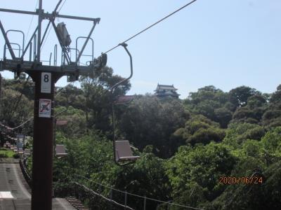 愛媛(伊予一国)ドライブ巡礼(50)松山城へ登る。
